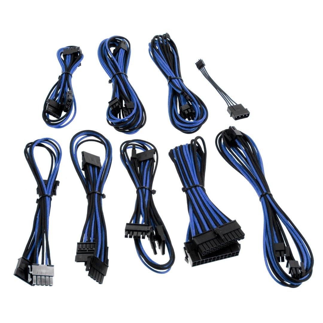 Cable Product Kit : Cablemod b series sp modflex™ cable kit black blue