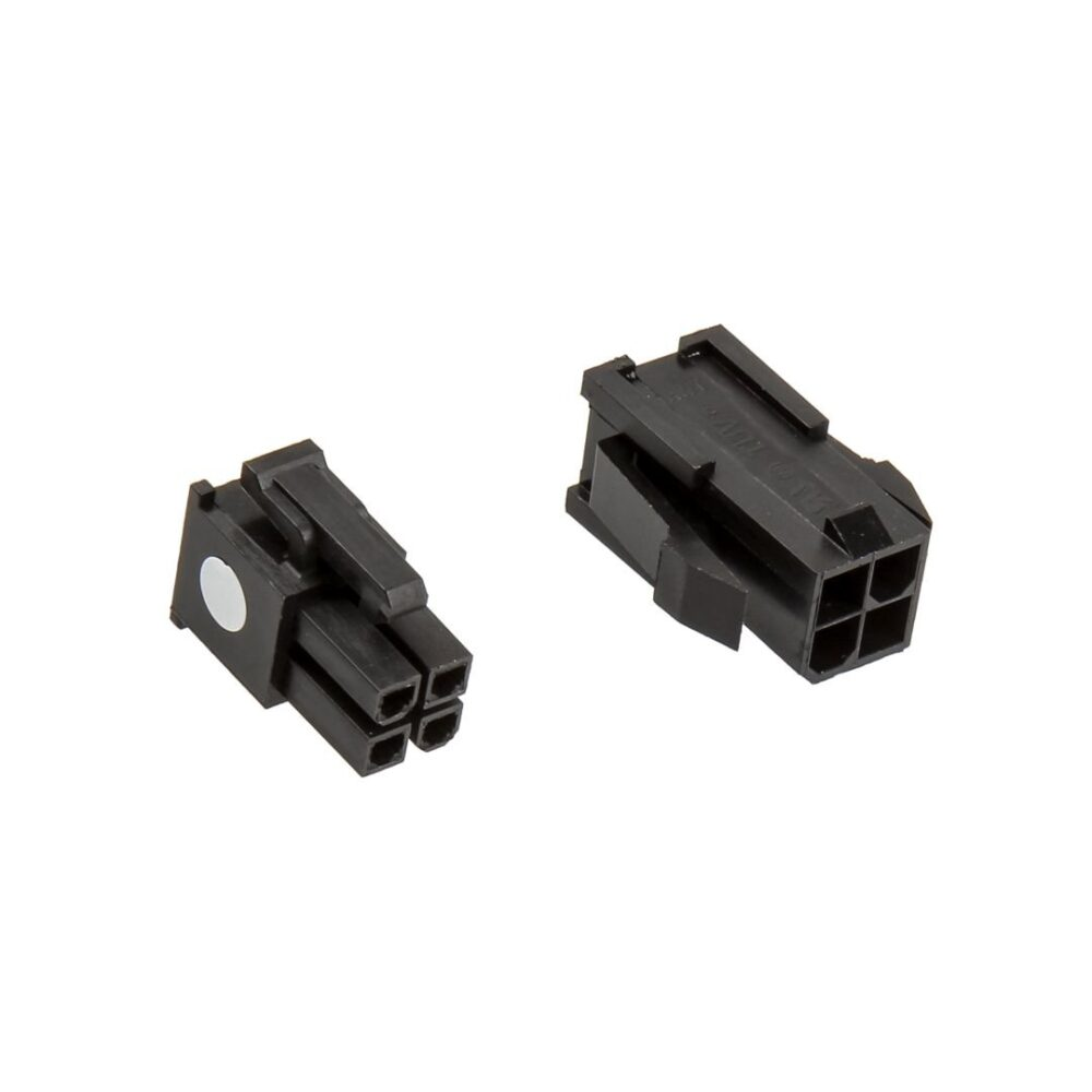 Black Cable Connector : Cablemod connector pack pin atx black