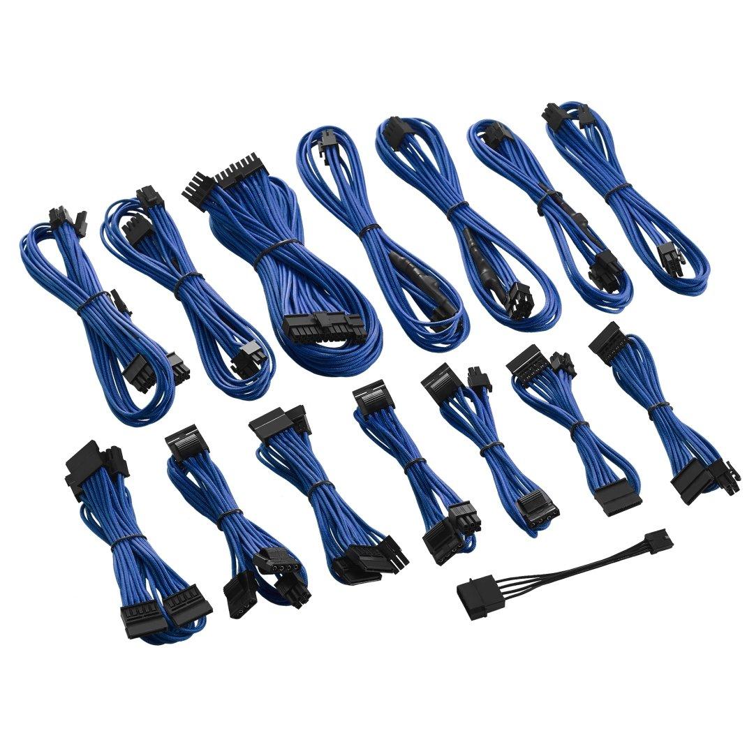 Cable Product Kit : Cablemod c series rmi rmx modflex™ cable kit blue