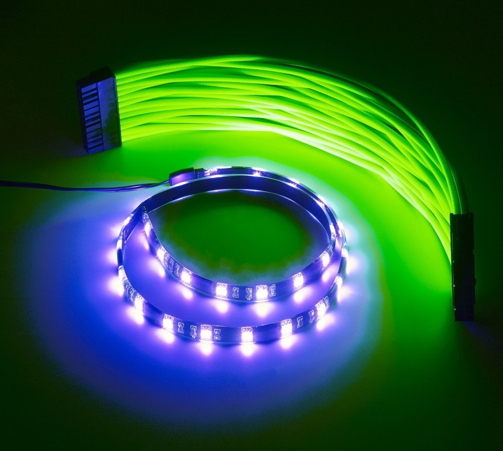 Cablemod widebeam foam led strip 30cm uv cablemod mozeypictures Image collections