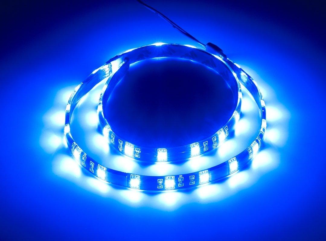 & CableMod WideBeam Foam LED Strip u2013 60cm u2013 BLUE | CableMod