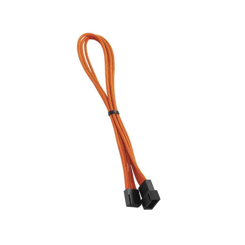 cablemod modflex™ 4-pin fan cable extension 30cm – orange