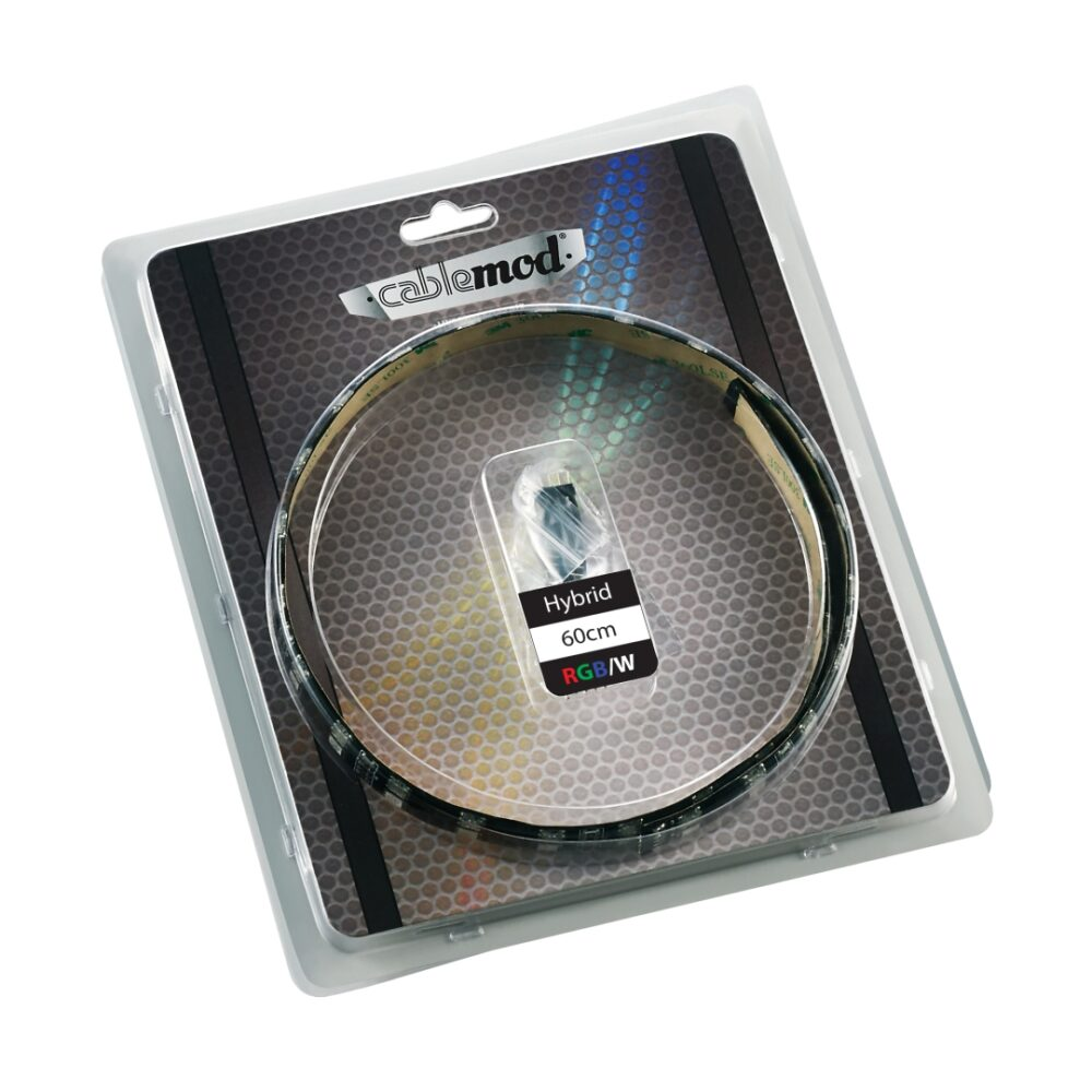 CableMod WideBeam Hybrid LED Strip 60cm – RGB/W – CableMod