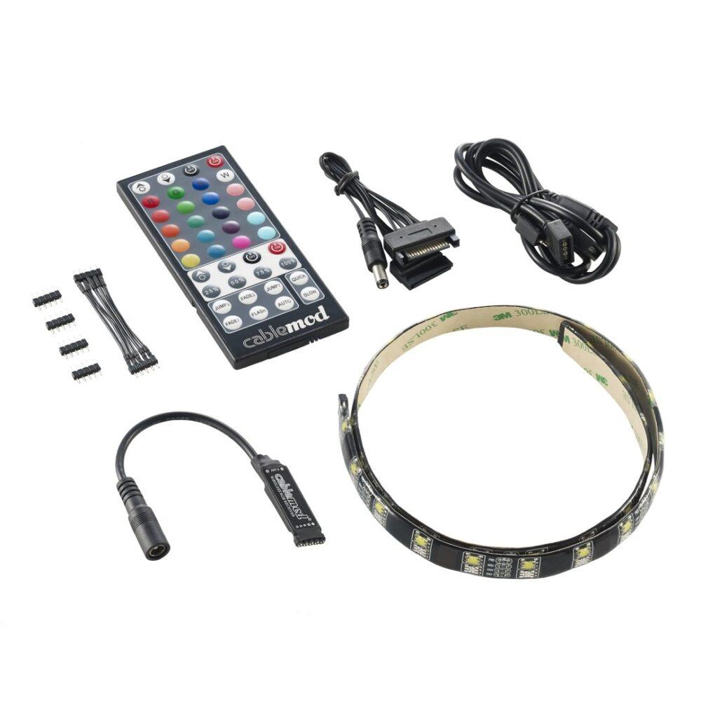 CableMod WideBeam Hybrid LED Kit 60cm – RGB/W – CableMod