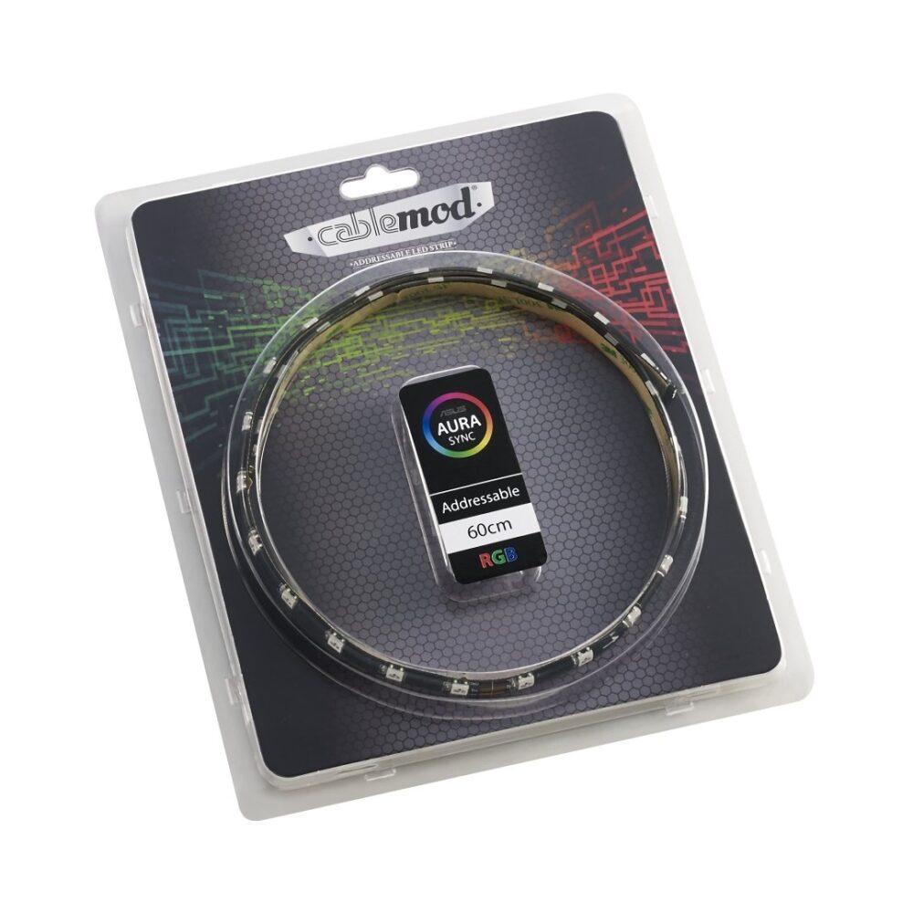 CableMod Addressable LED Strip 60cm – RGB – CableMod